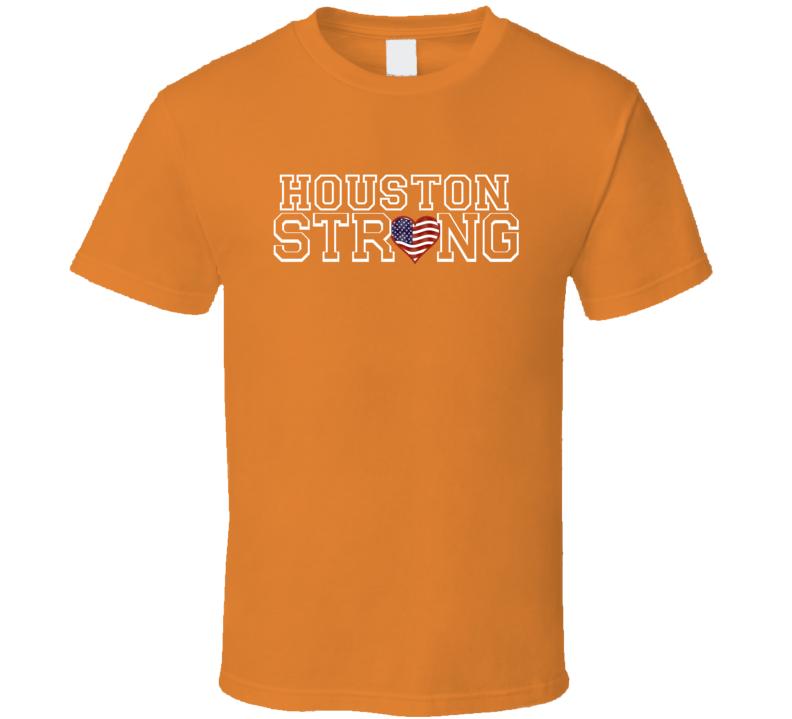 Houston Strong Baseball Fan T shirt