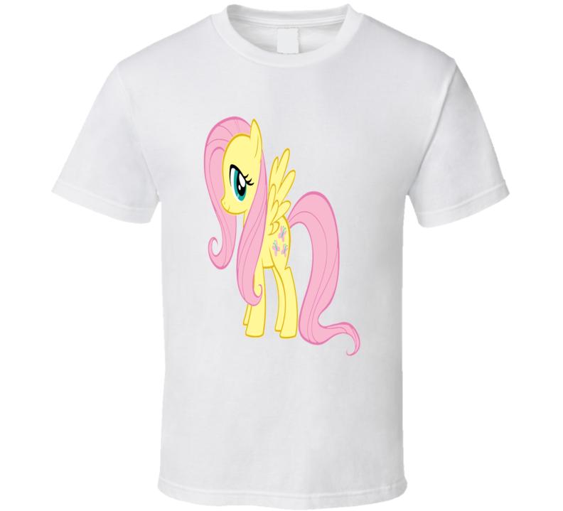 Brony My Little Pony Fluttershy Fan T Shirt