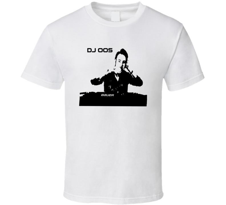 DJ Oos Christian Djoos Funny Nickname Washington Hockey Fan Parody T Shirt