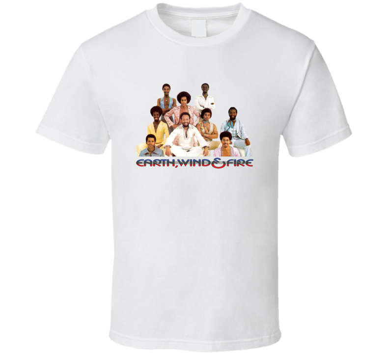 Earth Wind And Fire 70s 80s Soul Funk Band T Shirt