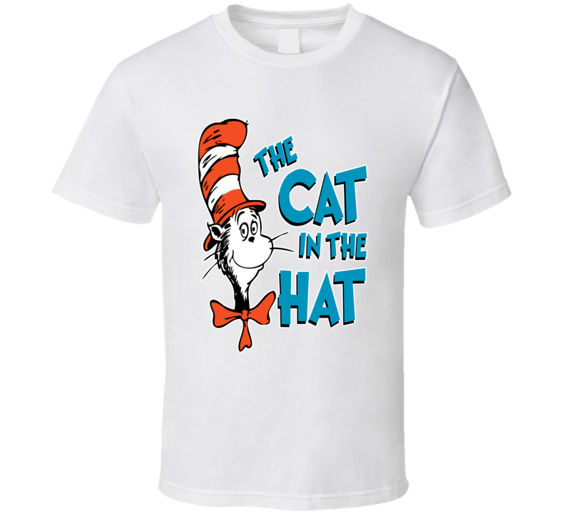 The Cat In The Hat Dr Seuss T Shirt