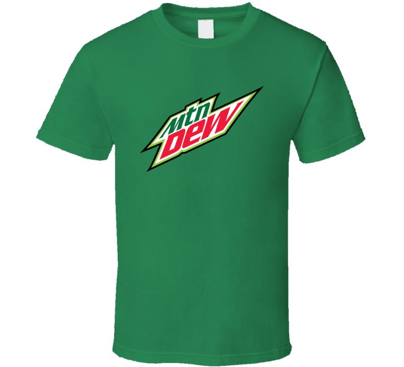 Mountain Dew Soda Pop Popular Drink T Shirt