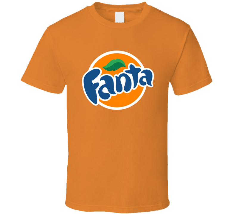 Fanta Soda Pop Popular Orange Flavor Drink T Shirt