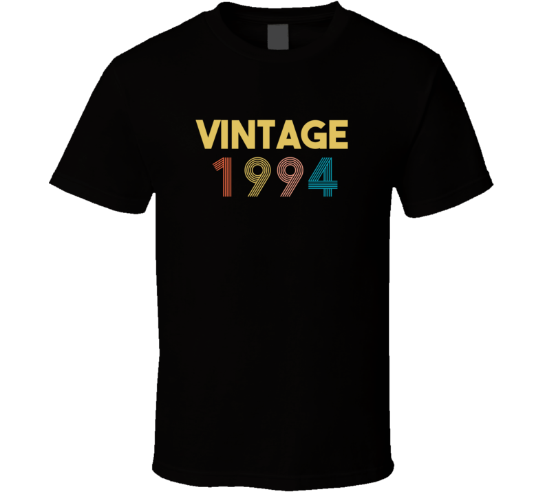 Vintage 1994 Birth Year T Shirt