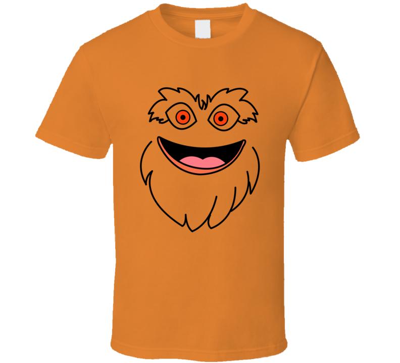 Gritty Face Philadelphia Hockey Fan T Shirt