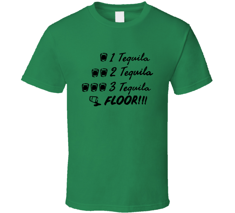 One Tequila Two Tequila Three Tequila Floor Captain Holt Funny T Shirt