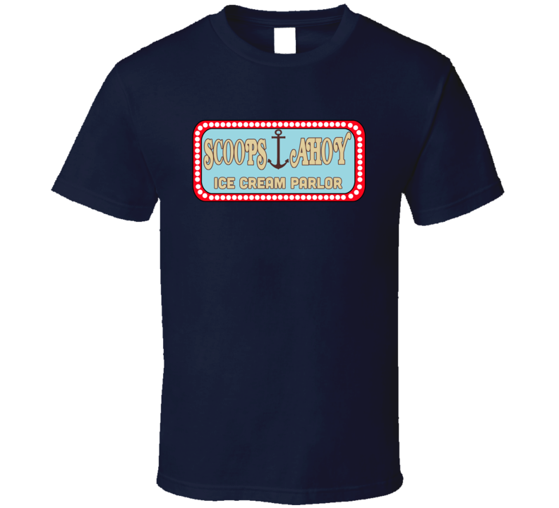 Scoops Ahoy Ice Cream Parlor Stranger Things Favorite Tv Show Fan T Shirt