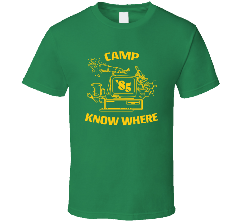 Camp Know Where Dustin Stranger Things Tv Show Fan T Shirt