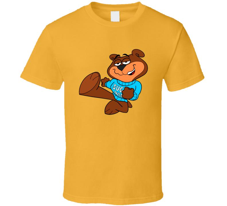 Sugar Bear Sugar Crisp Popular Cereal Character T Shirt
