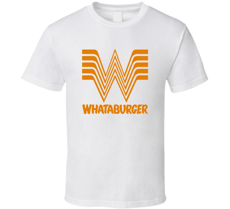 Whataburger Popular Fast Food Burger Restaurant T Shirt