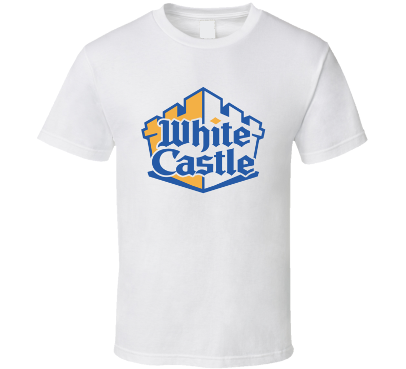 White Castle Popular Fast Food Burger Restaurant T Shirt