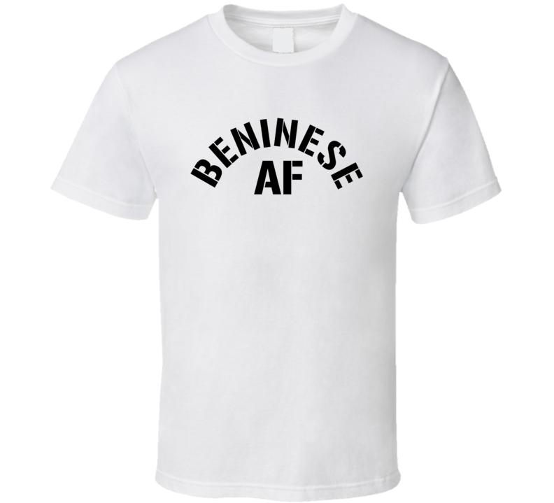 Beninese Af Proud Benin Heritage T Shirt