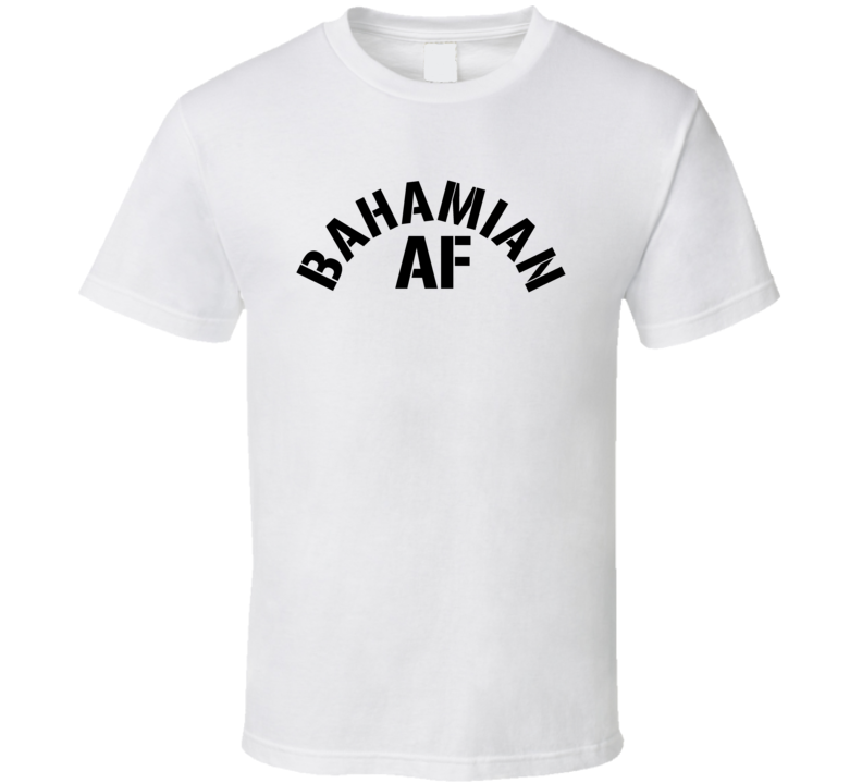Bahamiam Af Proud Bahamas Heritage T Shirt