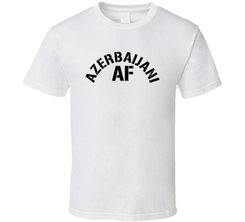 Azerbaijani Af Proud Azerbaijan Heritage T Shirt