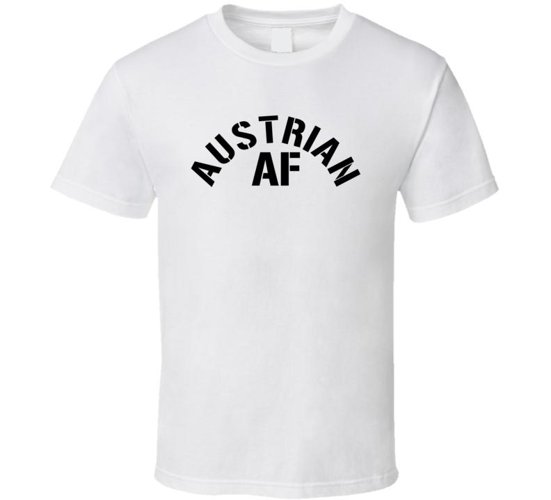 Austrian Af Proud Austria Heritage T Shirt