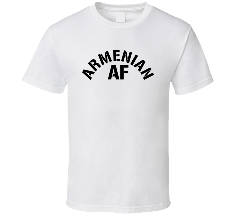 Armenian Af Proud Armenia Heritage T Shirt