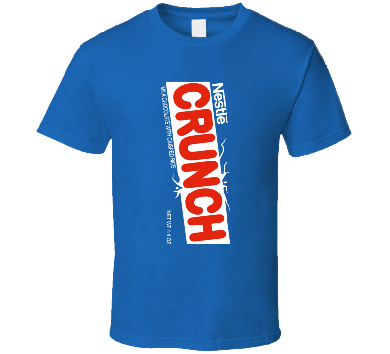 Crunch Chocolate Bar Group Halloween Costume T Shirt