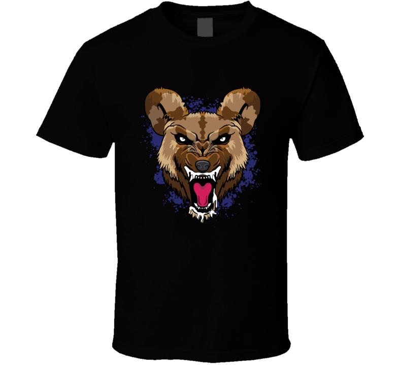 Wild Dog Scary Face T Shirt