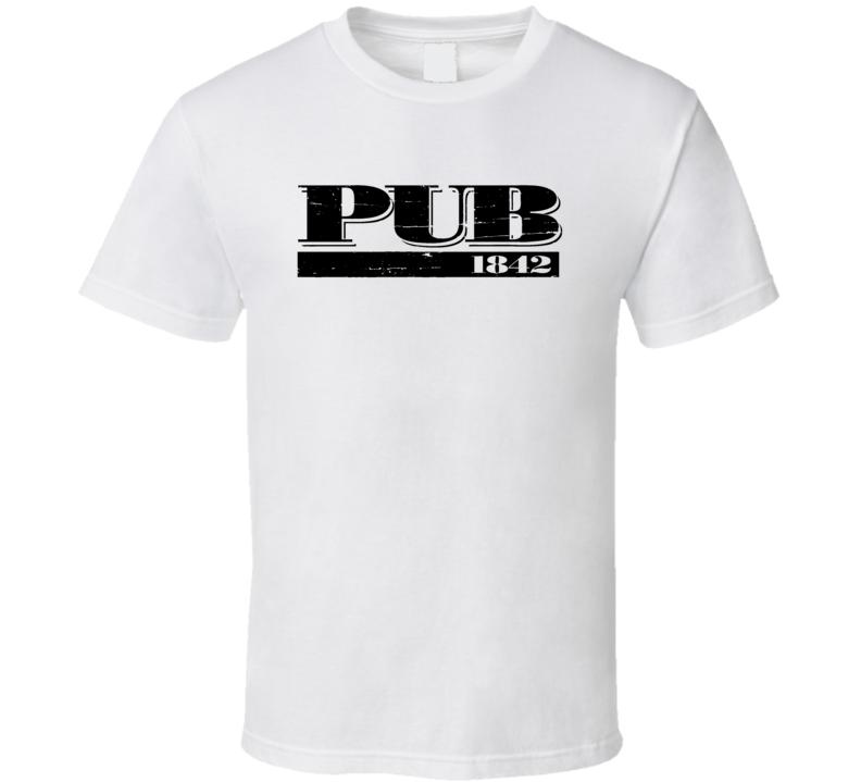 Pub 1842 Popular Burger Restaurant Las Vegas T Shirt