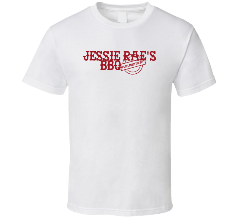 Jessie Rae's Bbq It's All About The Butt Las Vegas T Shirt