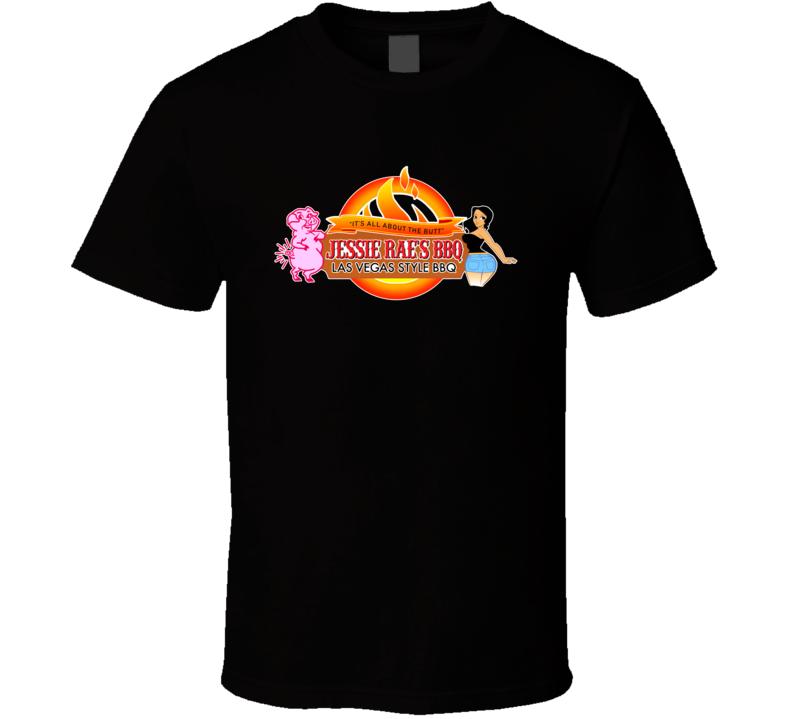 Jessie Rae's Bbq Popular Bbq Restaurant Las Vegas T Shirt