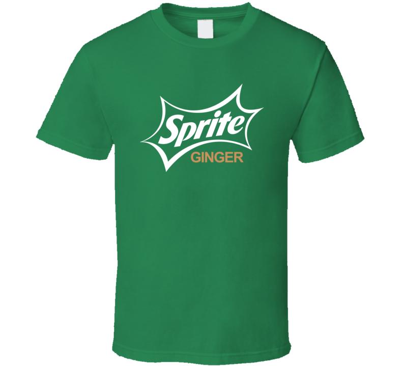 Sprite Ginger Soda Pop Popular Drink T Shirt