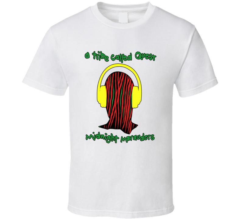 A Tribe Called Quest Midnight Marauders Music Fan T Shirt