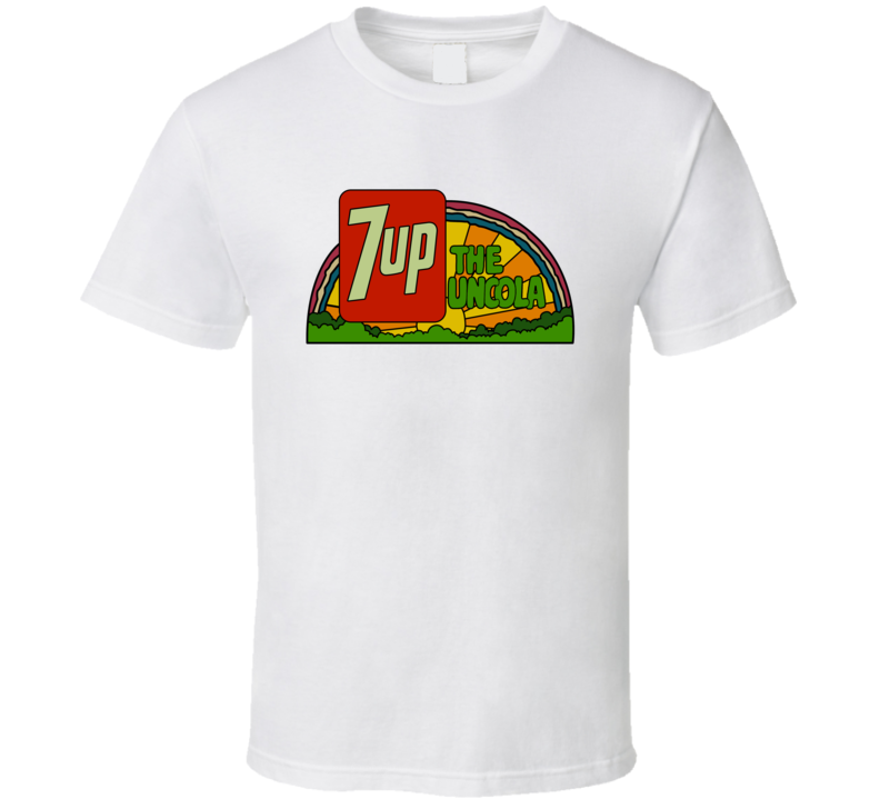 7 Up The Uncola Retro Soda Pop Lovers T Shirt