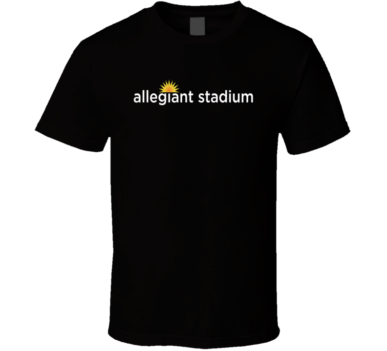 Allegiant Stadium Las Vegas Football Sports Fan T Shirt