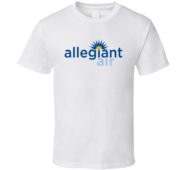Allegiant Air Low Cost Air Fare Budget Minded T Shirt