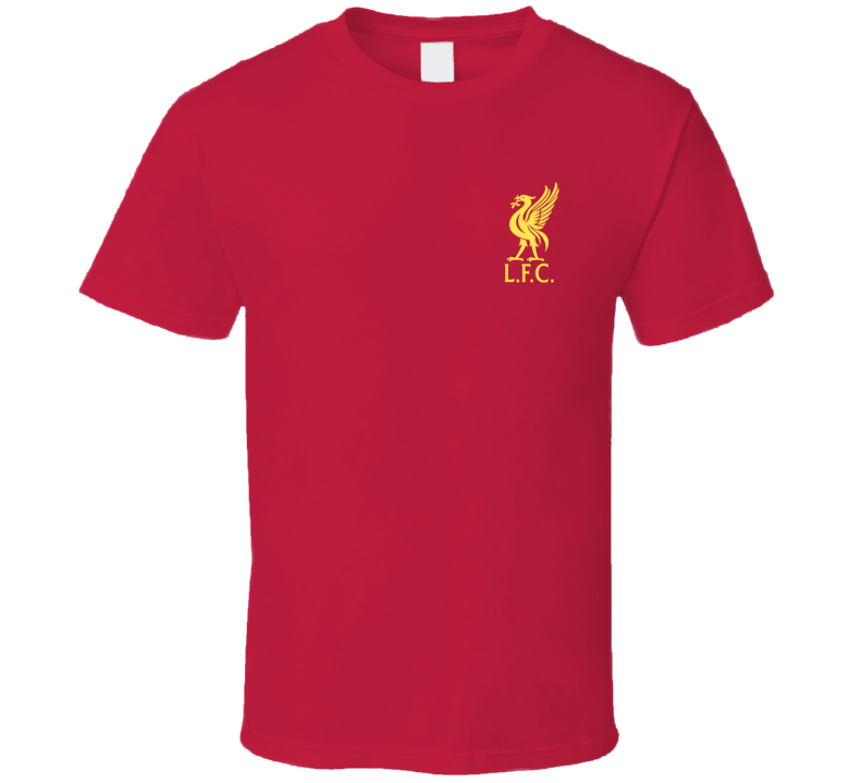 Liverpool Football Club Premier League Champs 2020 Chest Emblem Fan T Shirt