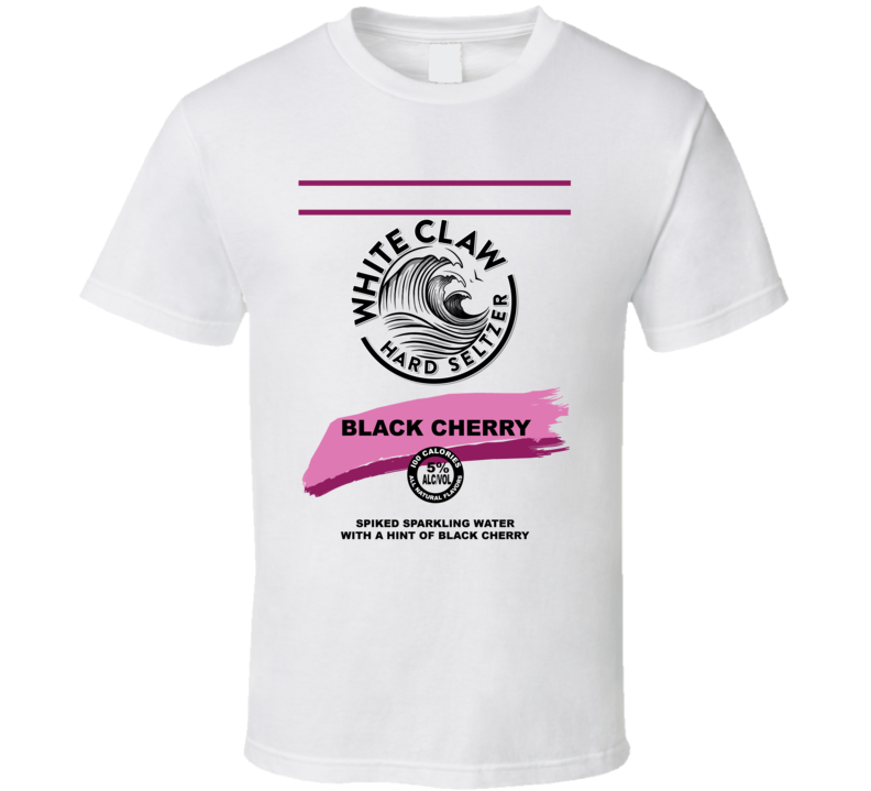 White Claw Black Cherry Hard Seltzer Halloween Group Costume T Shirt