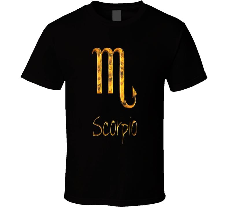 Scorpio Astrological Sign T Shirt