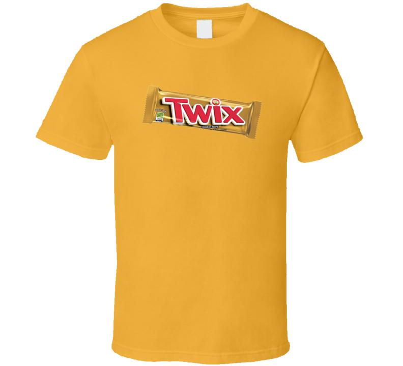Twix Candy Bar Chocolate Bar T Shirt