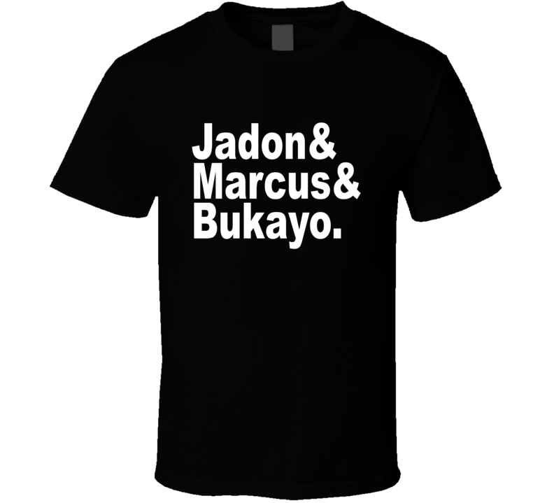 Jadon And Marcus And Bukayo England Euro Players Supporter T Shirt