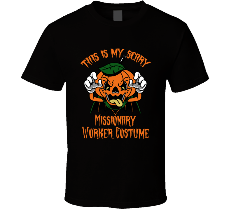 Scary Missionary Worker Halloween Costume T Shirt