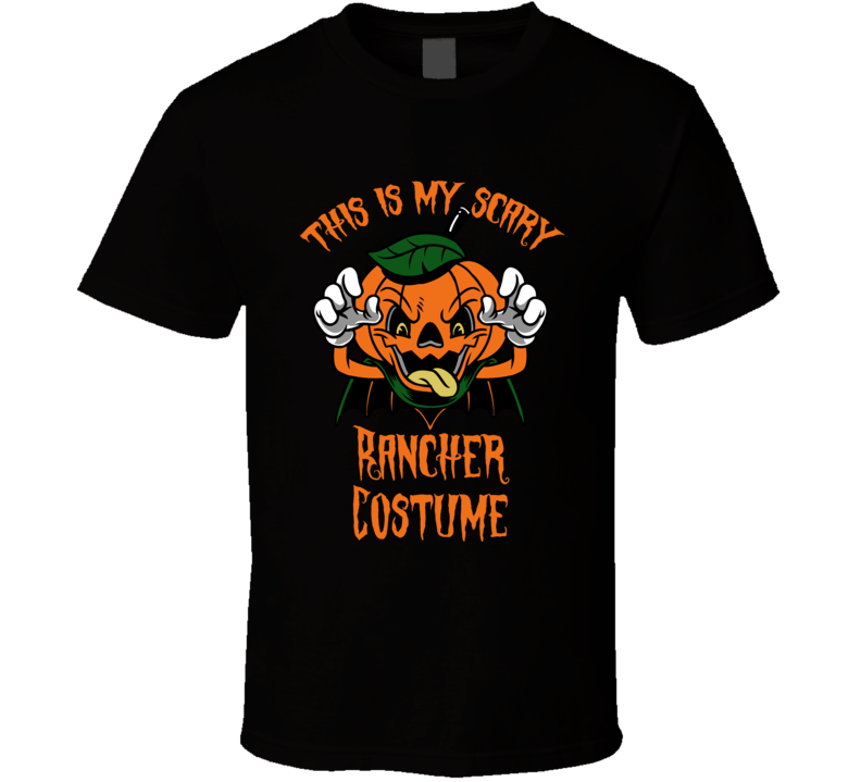 Scary Rancher Halloween Costume T Shirt