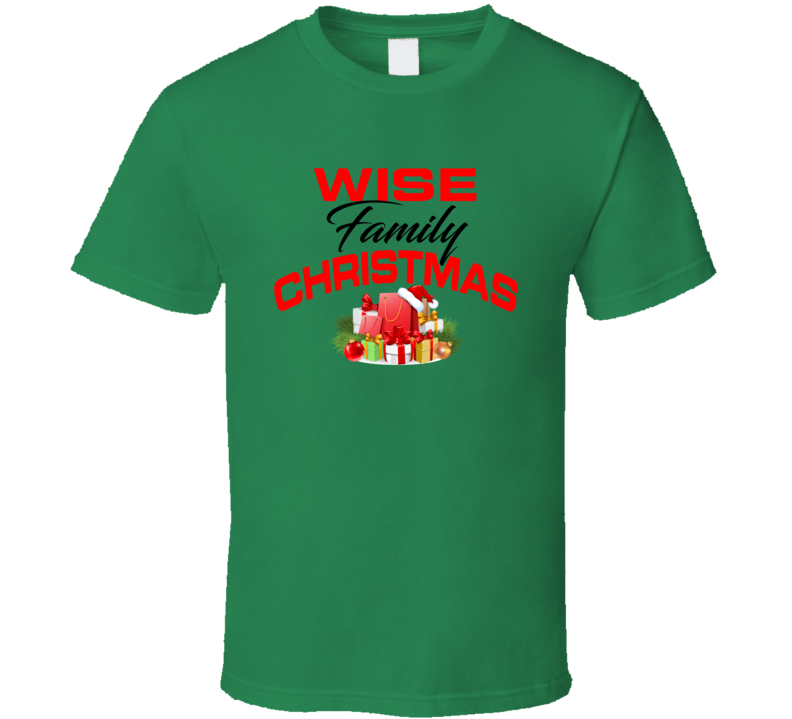 Wise Family Christmas T Shirt
