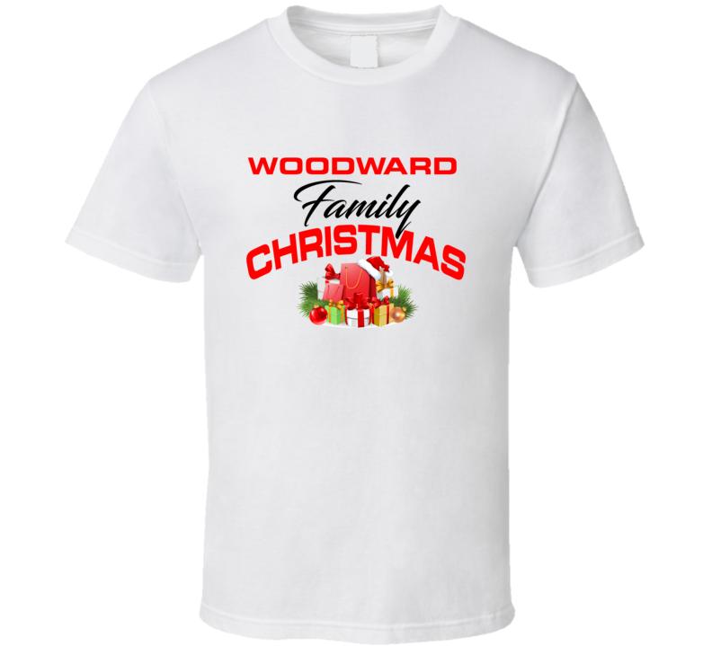 Woodward Family Christmas T Shirt
