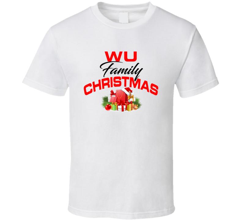 Wu Family Christmas T Shirt