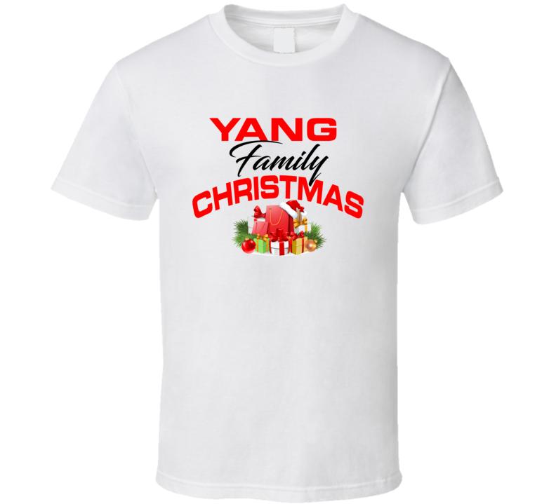 Yang Family Christmas T Shirt