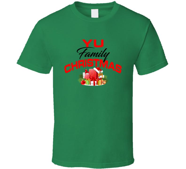 Yu Family Christmas T Shirt