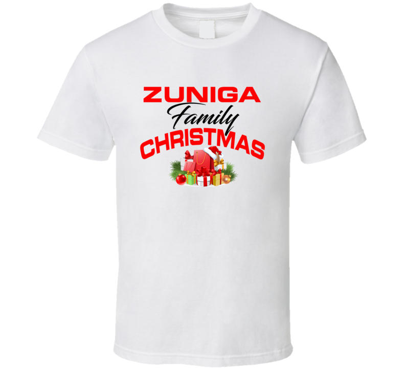 Zuniga Family Christmas T Shirt