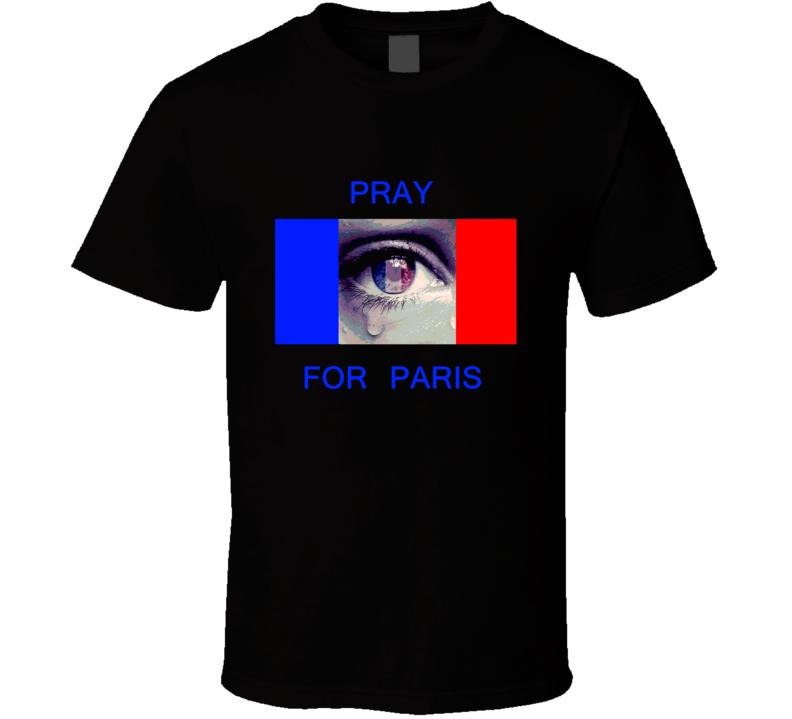 Pray For Paris t-shirt Anti terrorism shirts Pray t-shirts