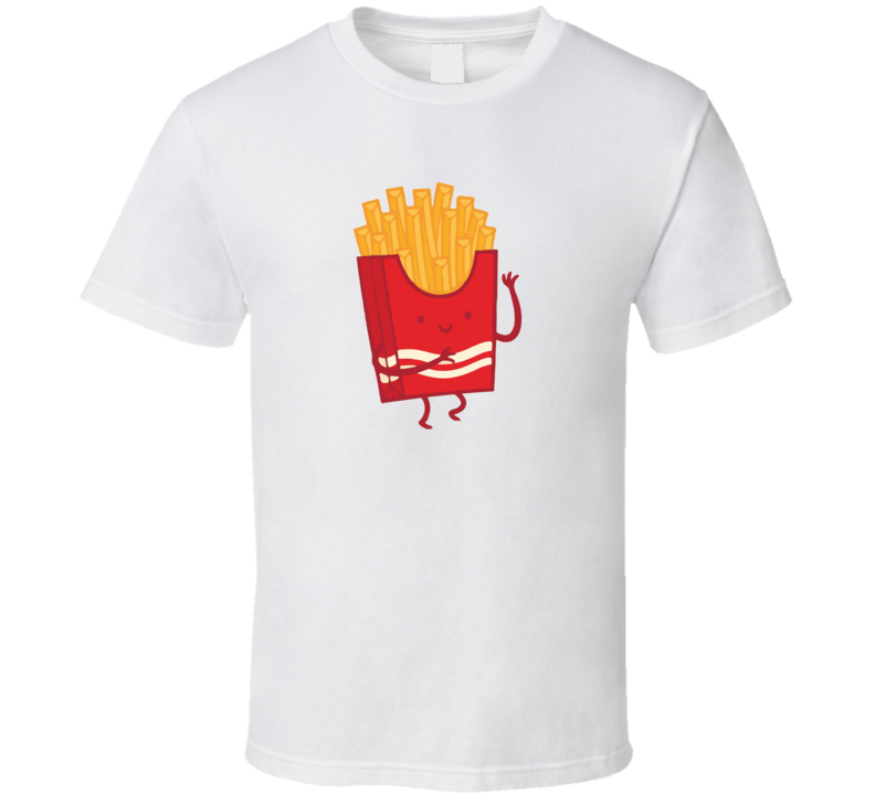 Fries Best Food Friends Cool Couples T Shirt