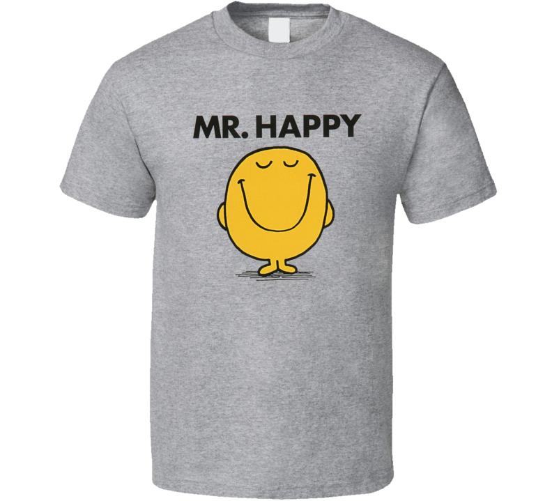 Mr. Happy Cool Retro T Shirt