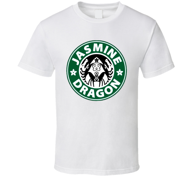 Jasmine Dragon Uncle Iroh Starbucks Coffee Avatar T Shirt