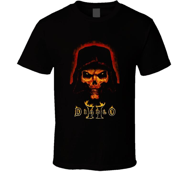 Diablo 2 Game Poster Blizzard Classic Gamer Fan Gift T Shirt
