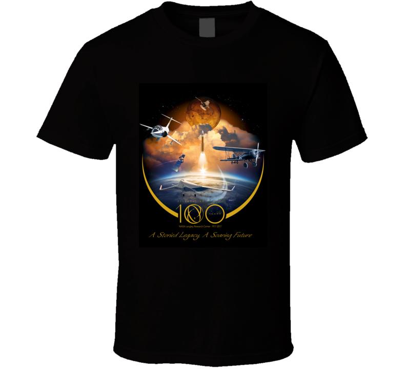 Nasa Celebrating 100 Years Of Aerospace Breakthroughs T Shirt