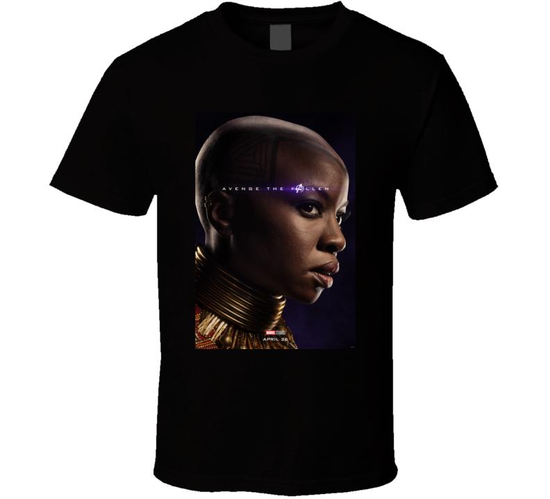 Okoye Avengers Endgame Poster Fan Gift T Shirt